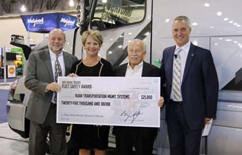 Ruan, Searcy Trucking net 2015 Volvo Safety Awards